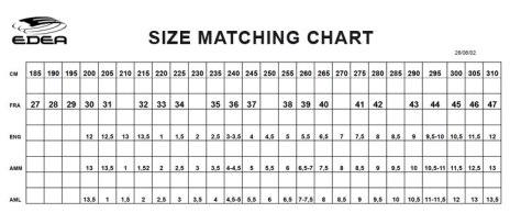 size-matching-chart
